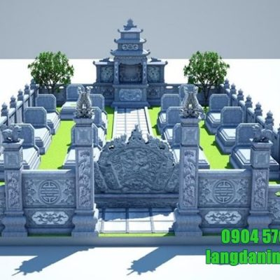 bản thiết kế khu lăng mộ gia đình đẹp nhất