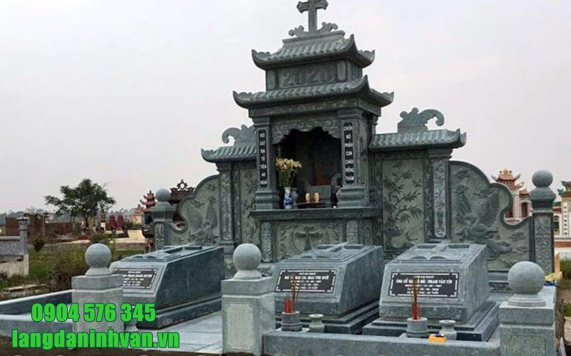 khu lăng mộ công giáo đẹp